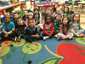 Class 1H wears their pajamas to celebrate Happiness Week!