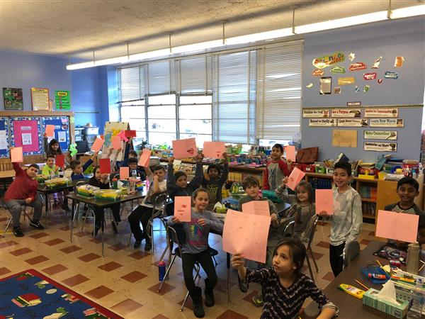 Fayette Students Create Valentines for Vets
