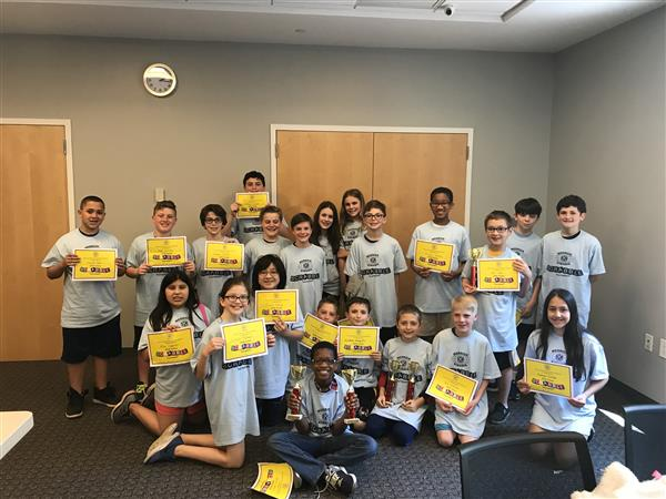 North Merrick Students Participate in Scrabble Tournament